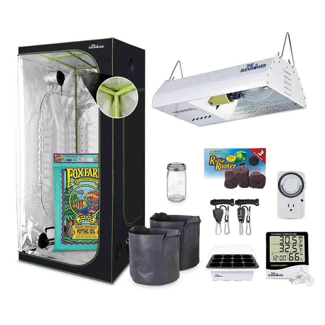 The Bud Grower Starter Indoor Grow Kit