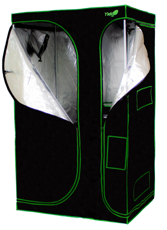 Yield Lab 2-in-1 Grow Tent Best 4x3