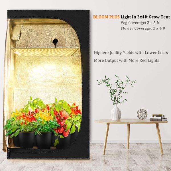 Bloom Plus LED Grow Lights BP-2500
