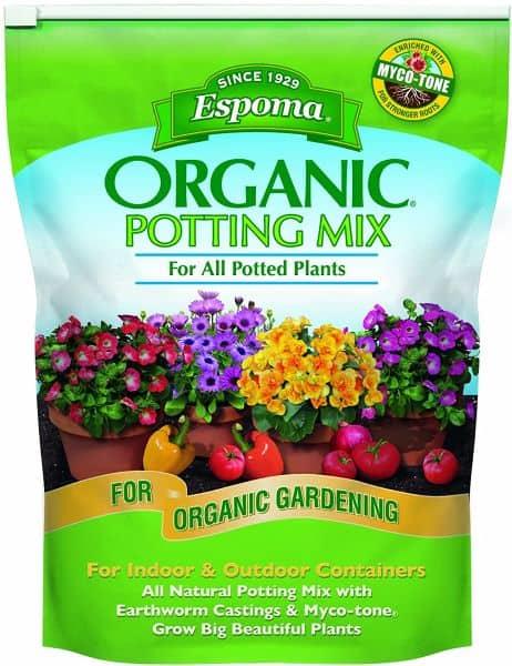 Espoma AP8 8-Quart Organic Potting Soil Mix