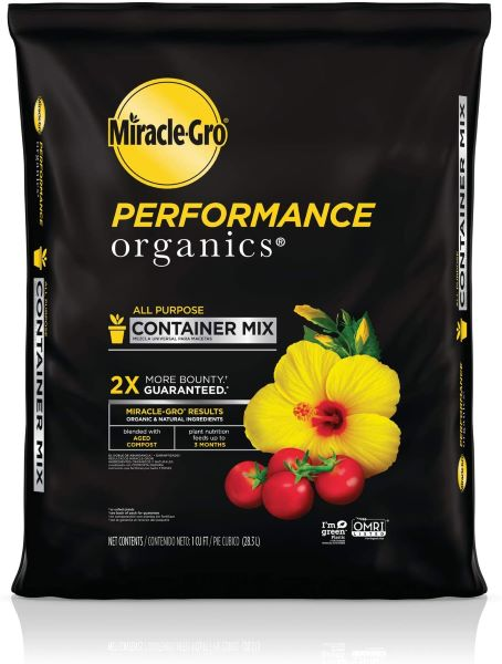 Miracle-Gro Performance Organics All Purpose Container Mix