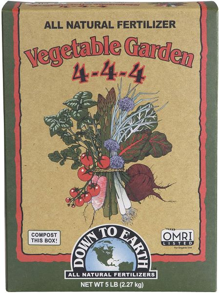 Down to Earth Organic Vegetable Garden Food