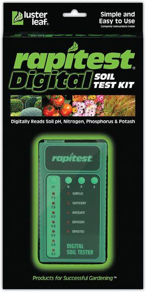 Luster Leaf 1605 Digital Soil Test Kit