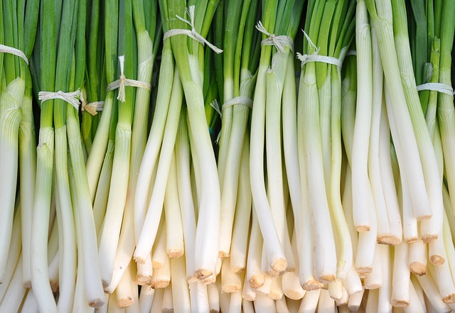 Green onion vs Chives