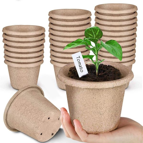 Angtuo peat pots for garden seedlings