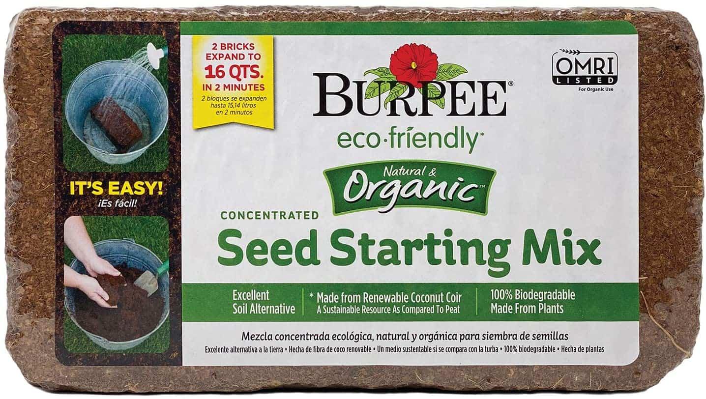 Burpee Organic Coconut Coir Bricks