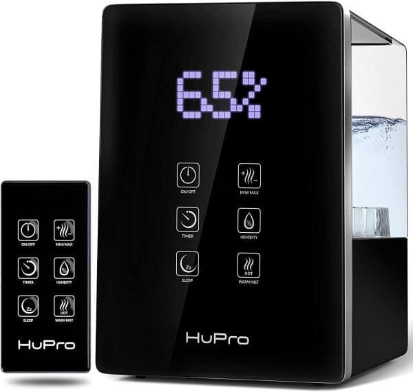 HuPro Warm & Cool Mist Ultrasonic Humidifier